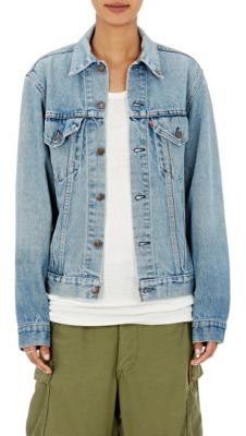 Icons Women's Denim Jacket-BLUE $350 thestylecure.com