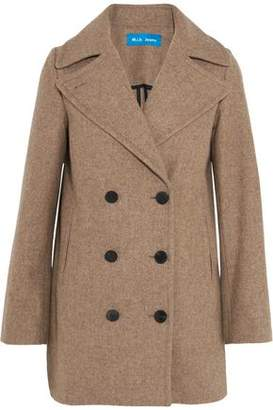 MiH Jeans Rosen Double-Breasted Wool-Blend Coat