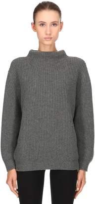 Agnona Cashmere Rib Knit Sweater