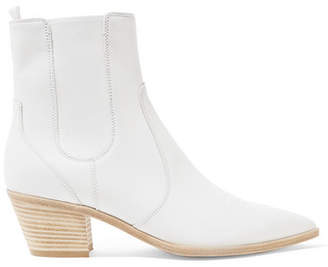 Austin 45 Leather Chelsea Boots - White