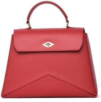 Ballantyne Diamond Bag M In Red Leather
