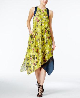 RACHEL Rachel Roy Floral-Print Scarf Dress, Only at Macy's $119 thestylecure.com