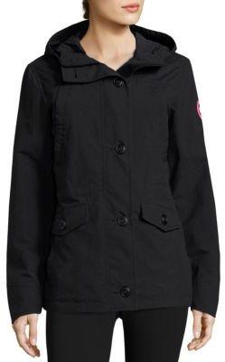 Canada Goose Reid Winderbreaker Jacket $395 thestylecure.com