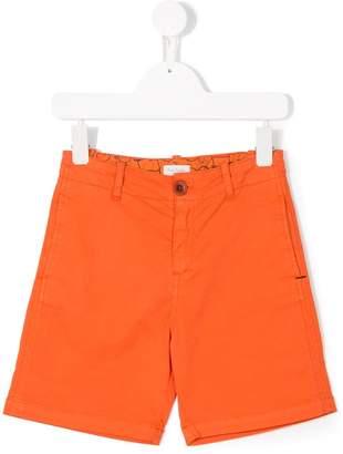 Paul Smith zebra patch shorts