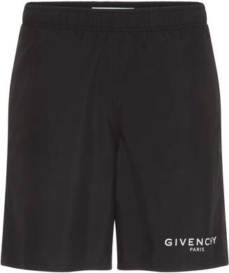 Givenchy Logo Swim Trunks