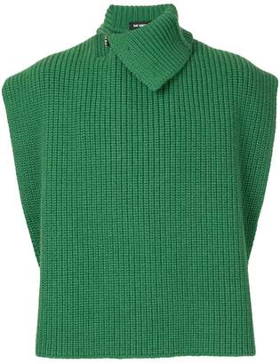 Raf Simons knitted vest
