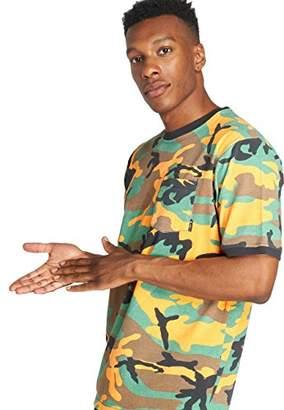 Lrg Men's Survival Tatics Short Sleeve Pocket Knit Shirt