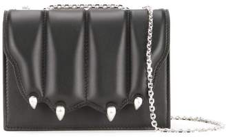 Marco De Vincenzo quilted paw flap crossbody bag