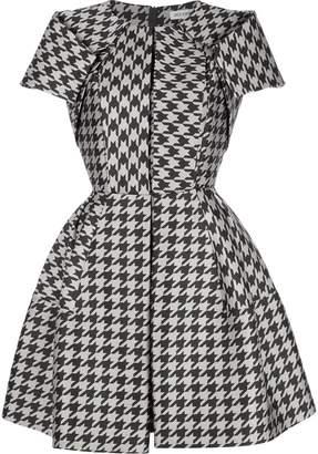 Dice Kayek structured houndstooth dress