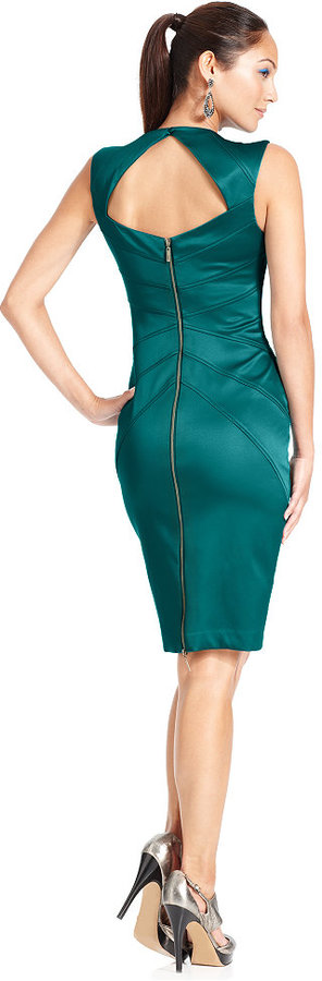 Jessica Simpson Sleeveless Seamed Dress