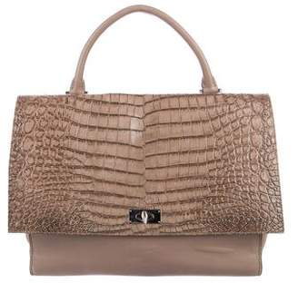 Givenchy Embossed Shark Tooth Satchel