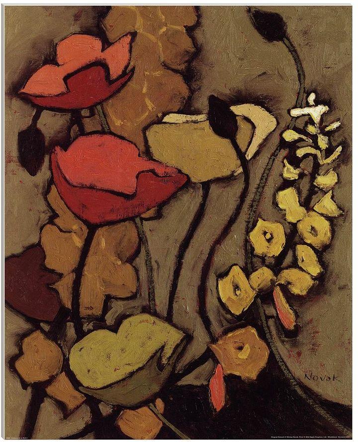 """La Nuit """"Colours De I"""" Canvas Art By Shirley Novak"""