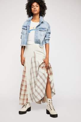 Cp Shades Patchwork Maxi Skirt