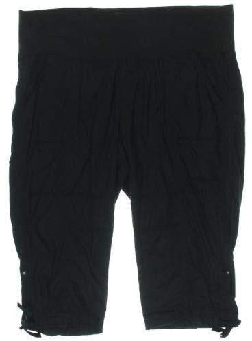 Calvin Klein Performance Womens Plus Quick Dry Adjustable Leg Cropped Pants