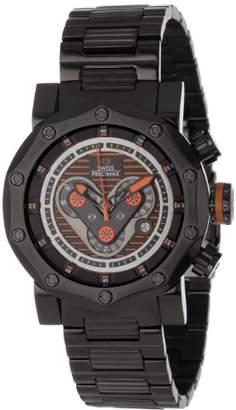 Vector Swiss Precimax Men's SP13092 Pro Dial Stainless-Steel Band Watch