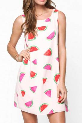Everly Watermelon Dress $52 thestylecure.com
