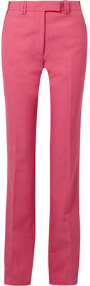Calvin Klein Striped Cady Slim-leg Pants - Pink