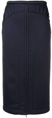 No.21 high-waisted pencil skirt