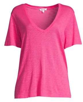 Splendid Everly V-Neck Tee
