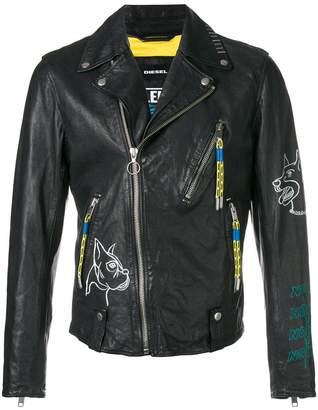 Diesel L-Will biker jacket