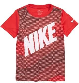 Nike Dry Wavey Mesh Graphic T-Shirt