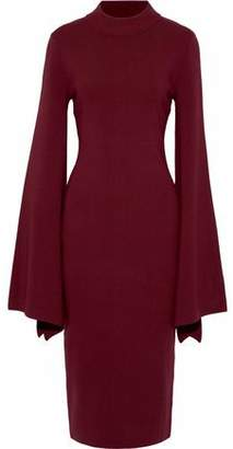 SOLACE London Ami Cutout Jersey Dress