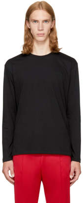 Versace Black Long Sleeve Medusa T-Shirt