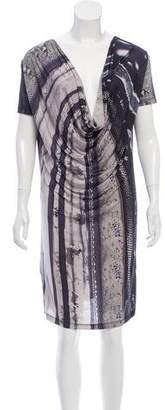 MM6 MAISON MARGIELA Printed Short Sleeve Dress