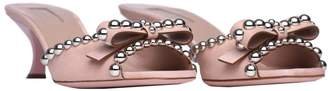 Sebastian Sandals In Pink Leather