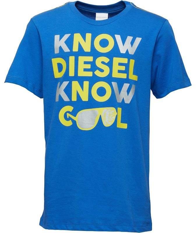 Boys Tapan T-Shirt Cobalt
