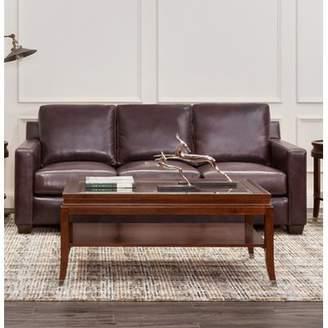 Red Barrel Studio Lynn Leather Sofa