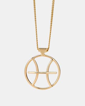 Karen Walker Pisces Zodiac Necklace