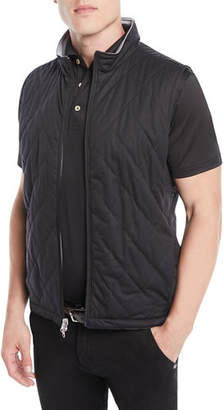Peter Millar Men's Reversible Quilted Vest