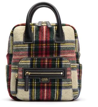 Frances Valentine Tartan Plaid Wool Backpack