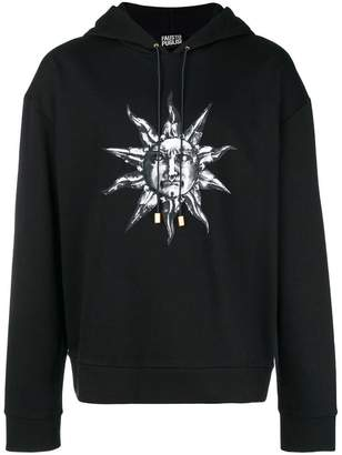 Fausto Puglisi sun print hoodie
