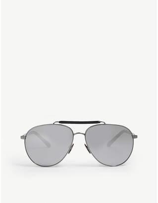 Burberry Top bar pilot-frame sunglasses