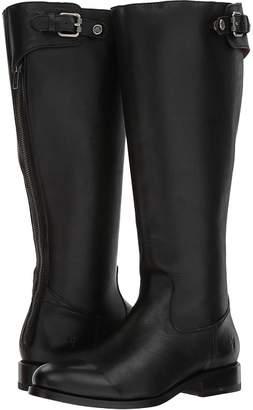 Frye Jayden Buckle Back Zip Wide Calf Women's Zip Boots