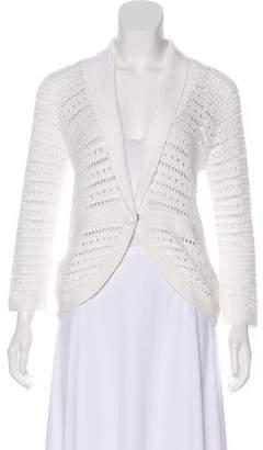 White + Warren Knit Long Sleeve Cardigan
