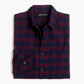 Buffalo David Bitton Mercantile Slim-fit flannel shirt in check