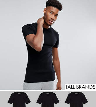 French Connection TALL 3 Pack Lounge T-Shirt