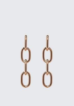 Alexander Wang (アレキサンダー ワン) - Alexander Wang Four-Link Chain Earrings In Rose Gold