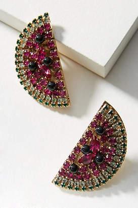 Anton Heunis Watermelon Slice Post Earrings