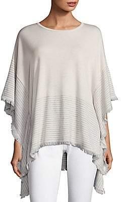 Vineyard Vines Women's Striped Sweater Poncho