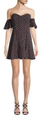 Bailey 44 Hoedown Floral Off-The-Shoulder Dress