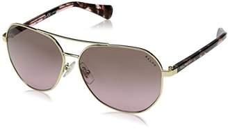 Ralph Lauren Ralph by Women's 0ra4123 Aviator Sunglasses