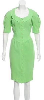 Thierry Mugler Button-Up Vintage Dress