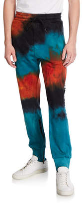 Mauna Kea Men's Love Lava Tie-Dye Jogger Pants