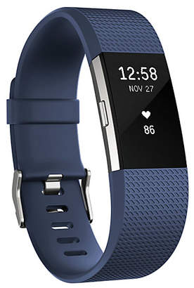 Fitbit Charge 2 HR + Fitness Small Wristband - Blue