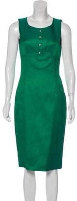 Dolce & Gabbana Wool & Silk-Blend Dress w/ Tags