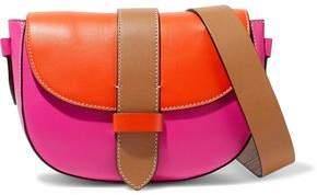 M Missoni Color-Block Leather Shoulder Bag
